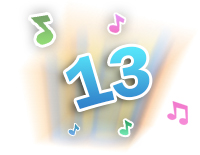 Plays 13 fun songs and melodies