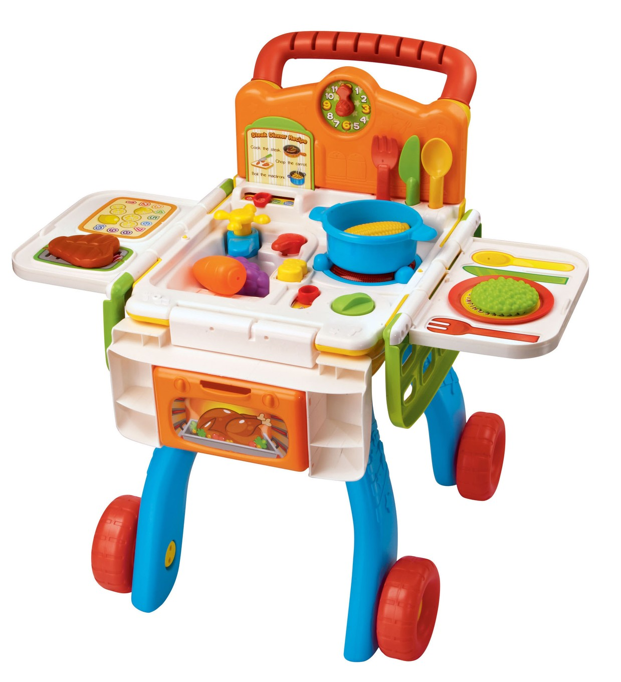 2 in 1 shop cook playset for Kitchen set for 2 year old boy