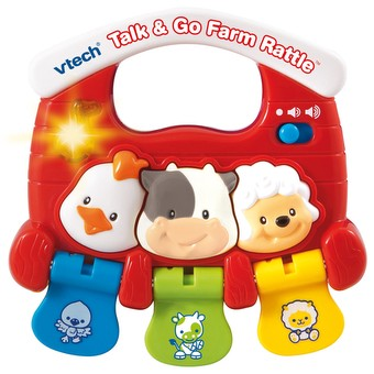 Talk & Go Farm Rattle