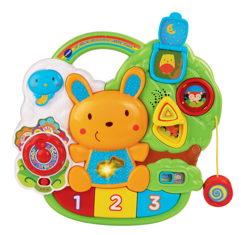 Walmart Baby Toys 12 Months : Lil critters crib to floor activity center І vtechkids