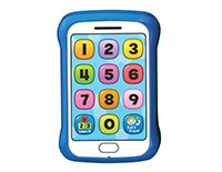 Toy Cell Phone Toy Cell Phone introduces numbers and says cheerful greetings.