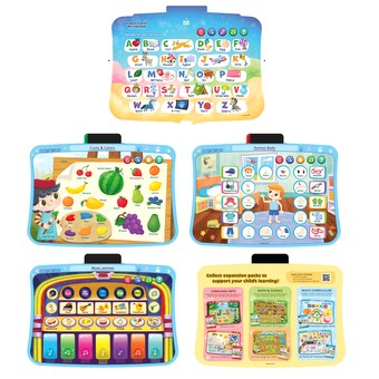 Pink NEW VTech Explore /& Write Activity Desk to Easel Chalkboard Table
