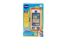 Touch & Swipe Baby Phone - Pink