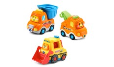 Go! Go! Smart Wheels® Construction Vehicle Pack - image