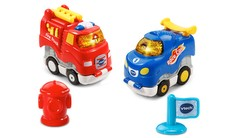 Go! Go! Smart Wheels® Press & Race™ Fire & Flame Racers™