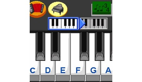 Welcome to your very own music studio. Play the keyboard and create