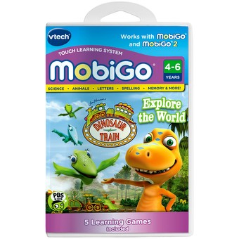 MobiGo Cartridge - Dinosaur Train