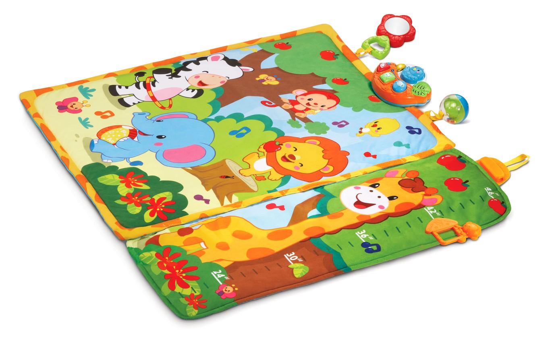 giggle  grow jungle playmat™  vtech® - giggle  grow jungle playmat™ loading