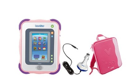 InnoTab Gift Set + Car Charger & Case (Pink)