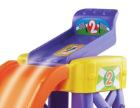 The lift-up launcher strengthens fine motor skills