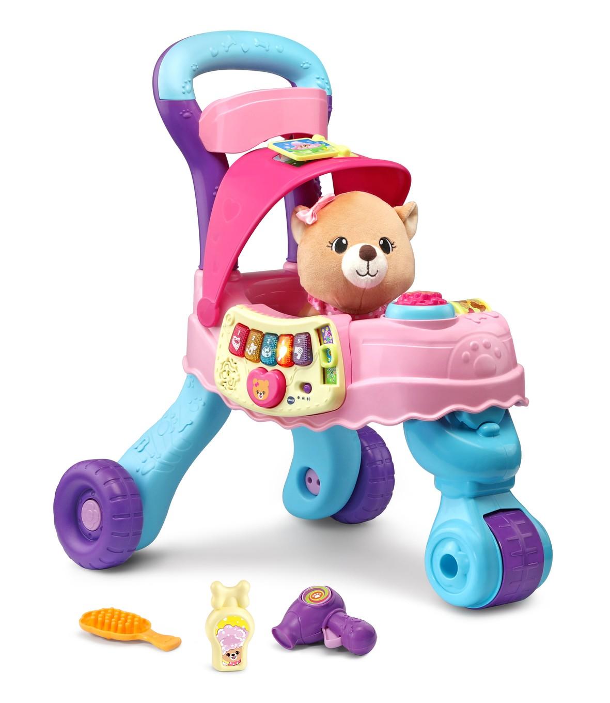 Cutie Paws Puppy Stroller Toddler Toy Vtech