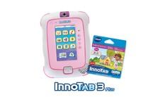 InnoTab 3 Plus with Cartridge Bundle - Pink