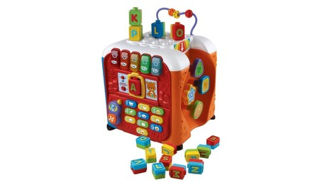 Alphabet Activity Cube Activity Toy Vtech Infant Learnin