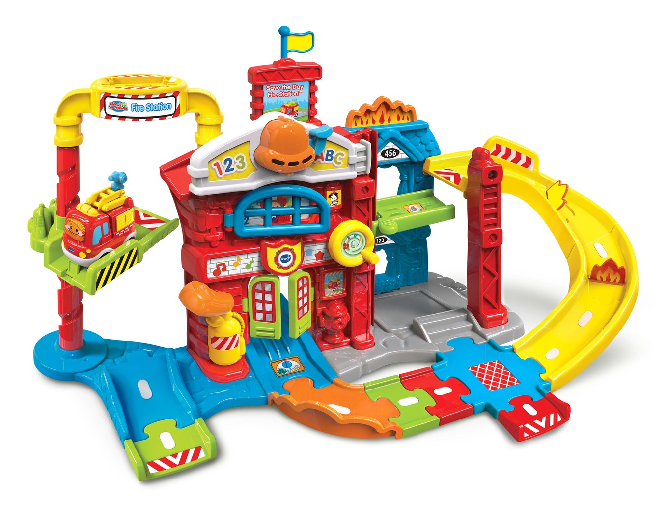 Go Go Smart Wheels Save The Day Fire Station Vtech