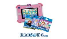 InnoTab 3S Plus with 3 Cartridges Bundle - Pink