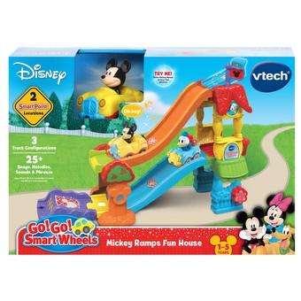 Go Smart Wheels Mickey Mouse Ramps Fun House 80-511800 VTech Go