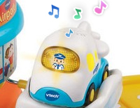Includes one Go! Go! Smart Wheels™ airplane that responds with 60+ phrases, sounds, songs and more