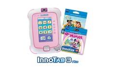 InnoTab 3 Plus with 2 Cartridges Bundle - Pink