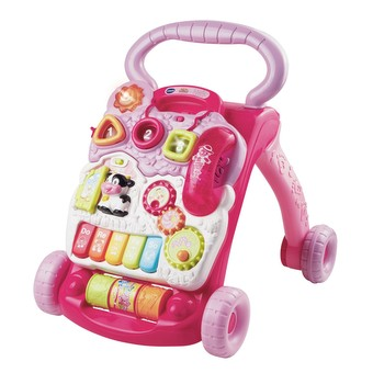 Sit-to-Stand Learning Walker™ - Pink