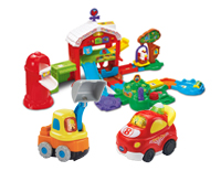 Works with Go! Go! Smart Animals®, Go! Go! Smart Wheels® and select Go! Go! Smart Friends® playsets (each sold separately)
