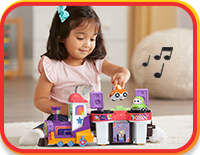 Wicky-Wicky, Woo-Woo! Bust a move with Cory, Chrissy and DJ Train Trax and the Roll Train! Listen to fun songs, phrases and melodies from the show.