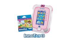 InnoTab 3 with Cartridge Bundle - Pink