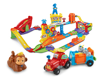 Works with Go! Go! Smart Wheels®, Go! Go! Smart Animals® and select Go! Go! Smart Friends® playsets (each sold separately)
