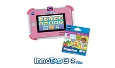 InnoTab 3S Plus with Cartridge Bundle - Pink
