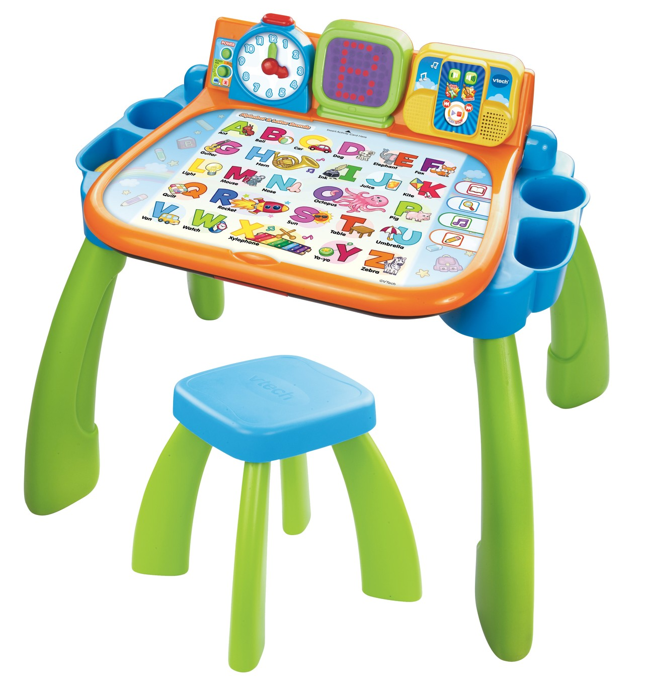 Vtech touch and learn activity desk singapore map