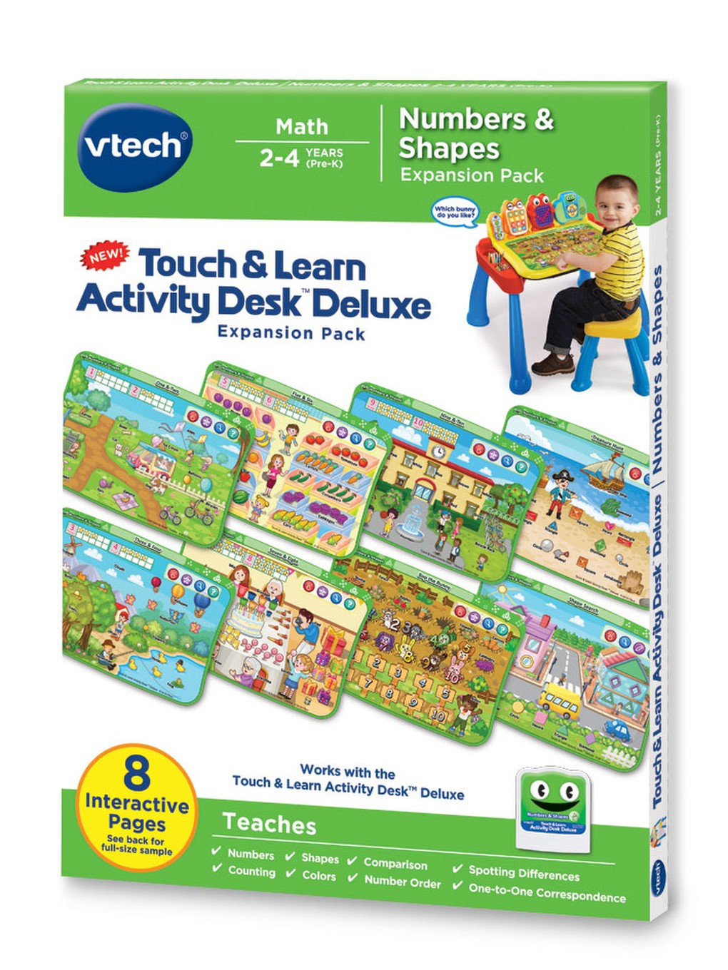 Touch & Learn Activity Desk™ Deluxe │ Numbers & Shapes │ VTech®
