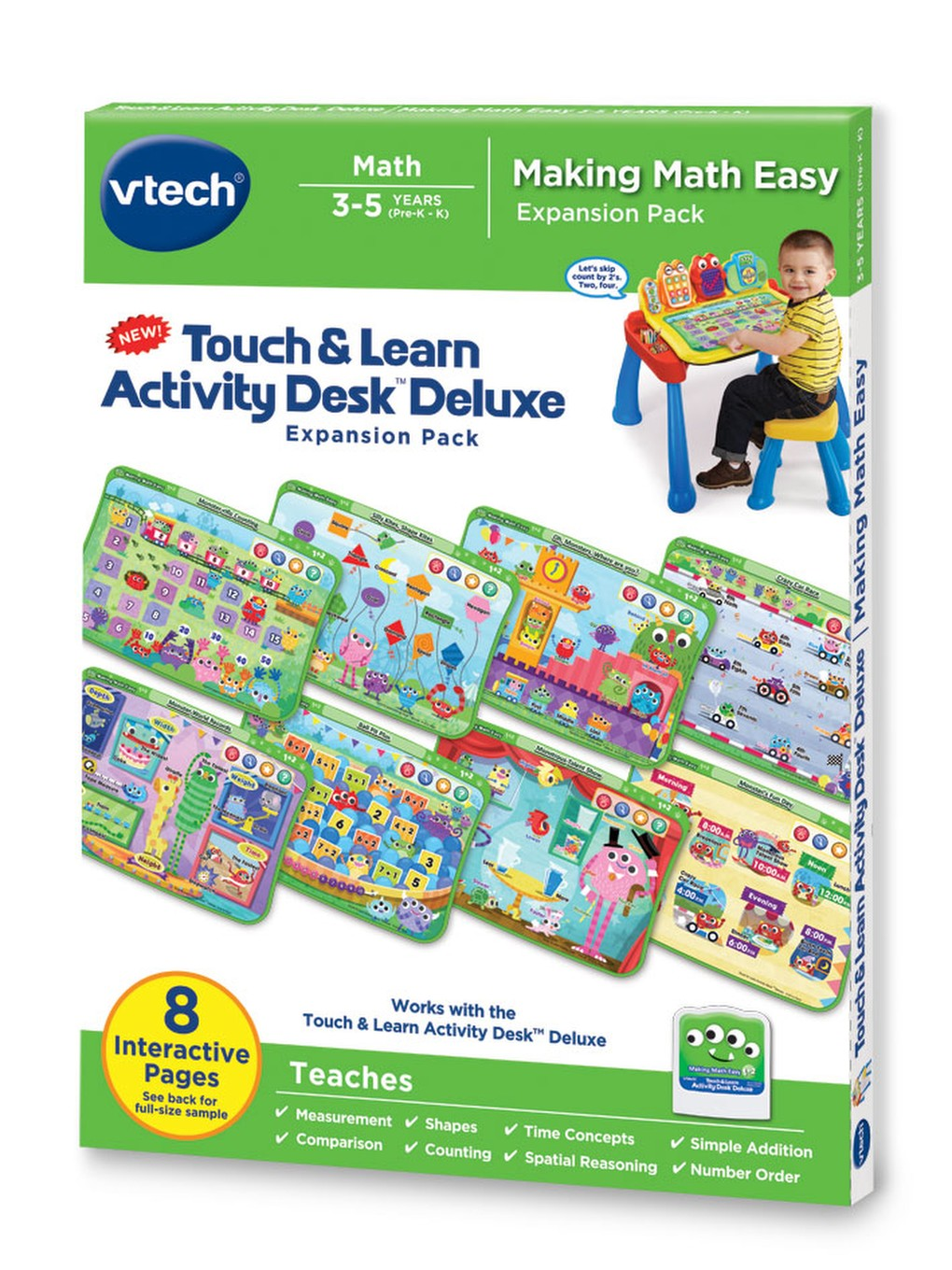 Touch & Learn Activity Desk Deluxe   Toddler Learning   VTech