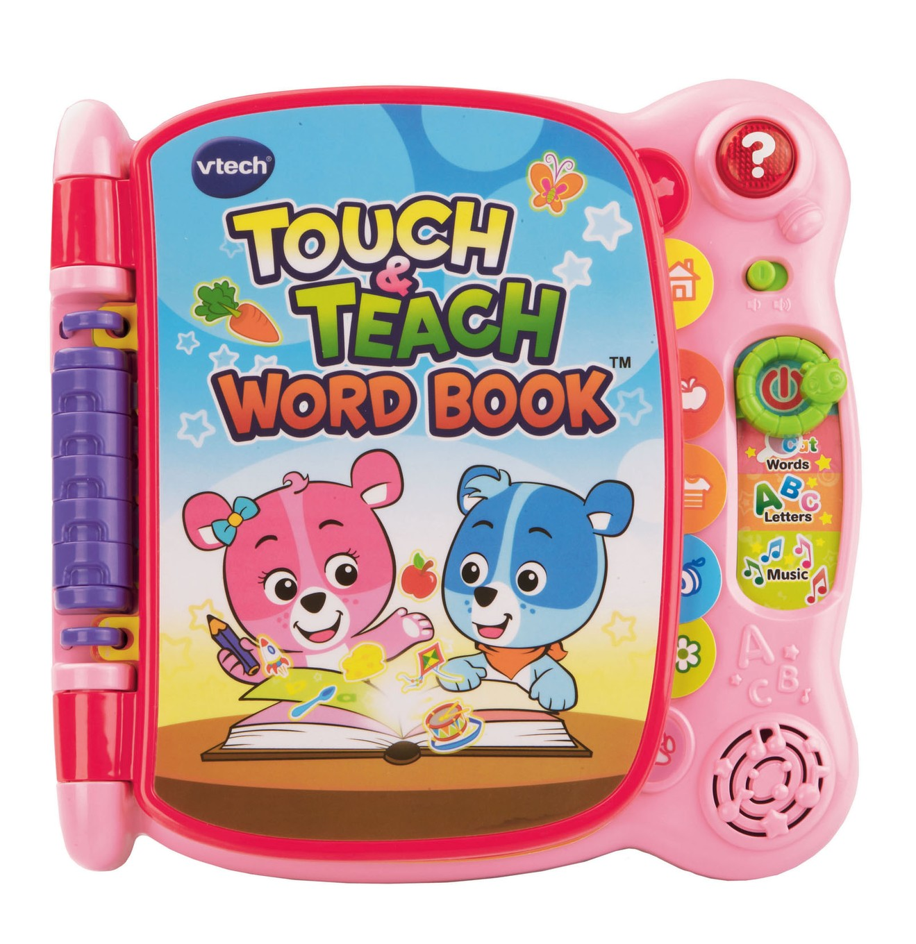 touch and teach word book