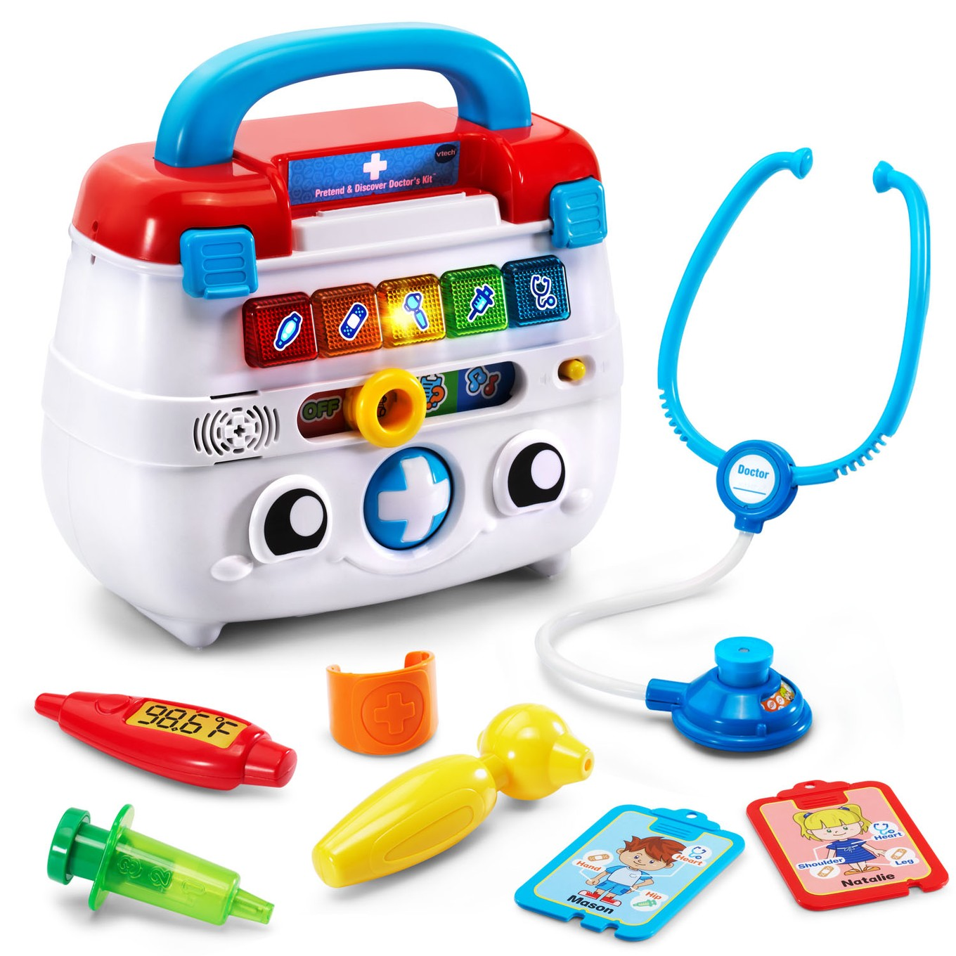 Walmart Educational Toys : Pretend discover doctor s kit™ │ vtech