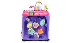 Ultimate Alphabet Activity Cube™ (Pink)