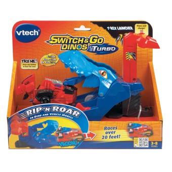 Switch & Go Dinos Turbo | T-Rex Launcher