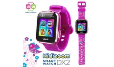 Kidizoom® Smartwatch DX2 (Floral Birds with Bonus Vivid Violet Wristband)