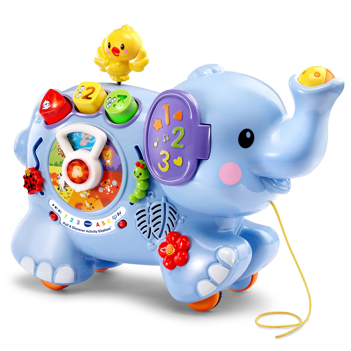 Target Toy Guide : Pull discover activity elephant™ vtech