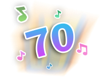 Over 70 sing-along songs, music, sound effects and fun phrases