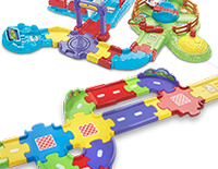 Connects to other Go! Go! Smart Wheels® or Go! Go! Smart Animals™ playsets (sold separately)