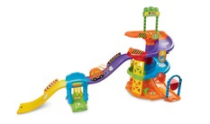 Go! Go! Smart Wheels Spinning Spiral Tower Playset - image