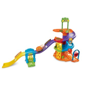 Go! Go! Smart Wheels Spinning Spiral Tower Playset