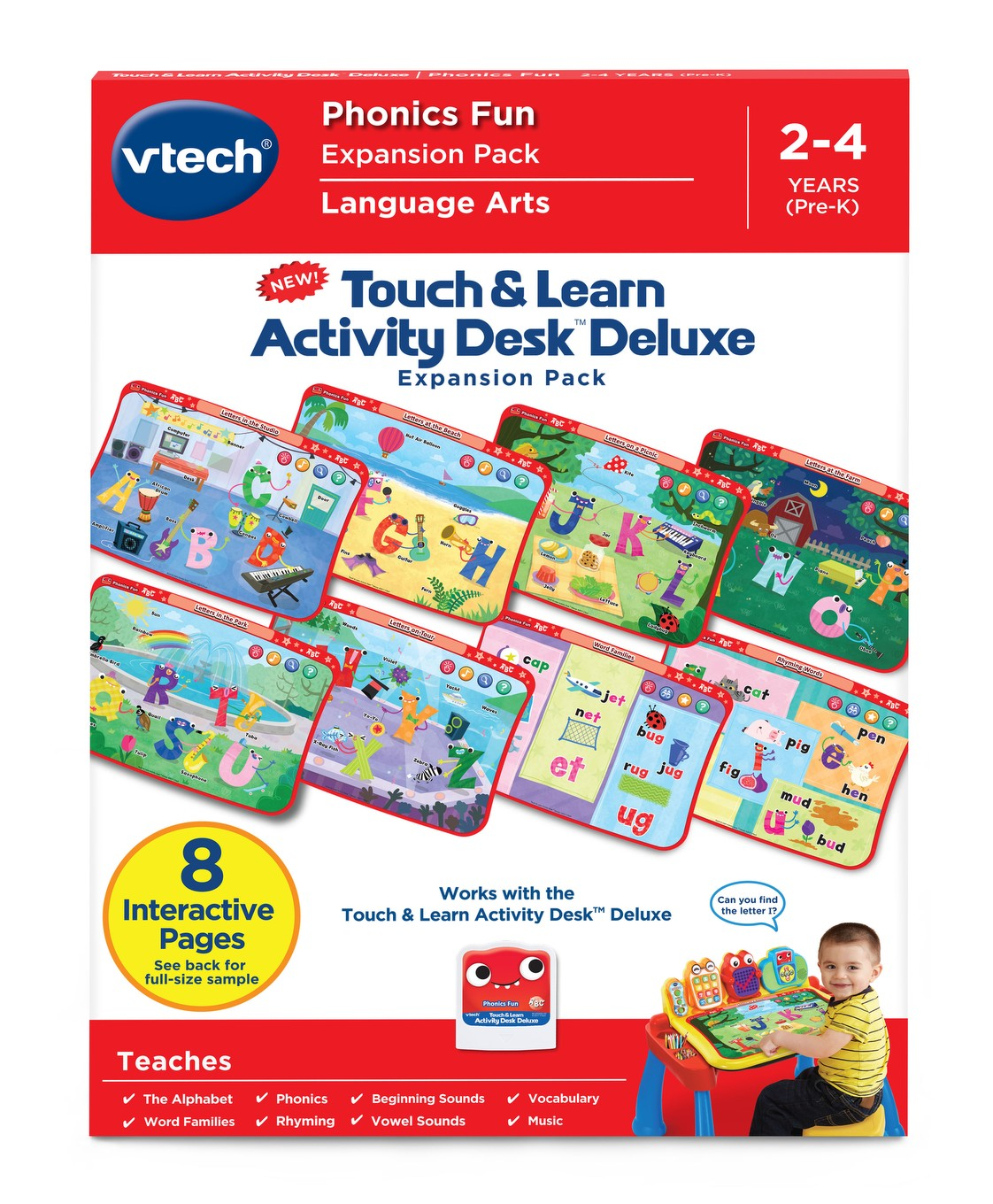 Touch Learn Activity Desk Deluxe Phonics Fun Loading