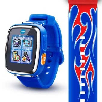 Kidizoom® Smartwatch DX - Red Flame with Bonus Royal Blue Wristband