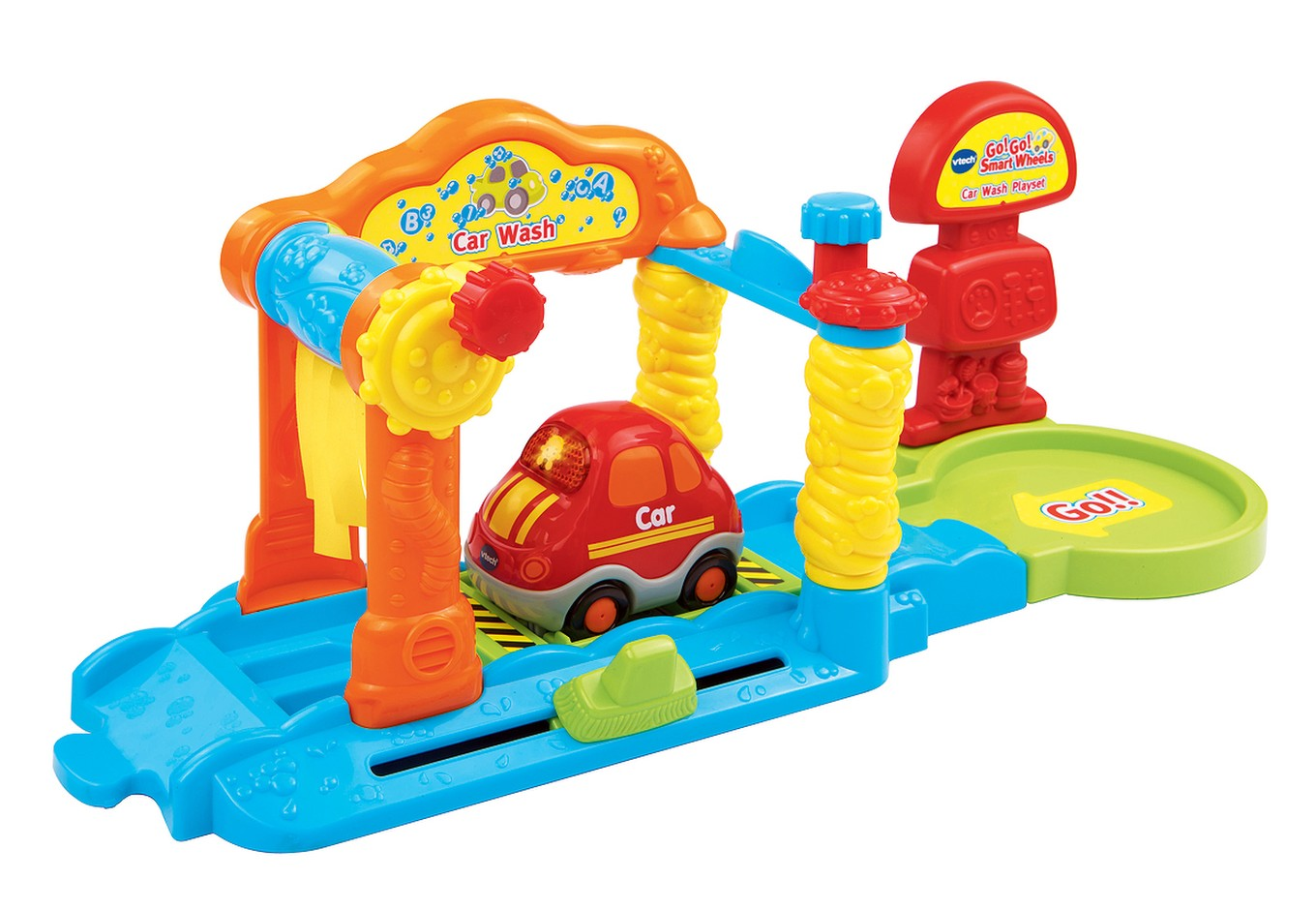 Go Go Smart Wheels Car Wash Playset