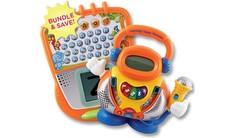 Preschool Gift Set: Write & Learn Touch Tablet + Learning Tunes Karaoke