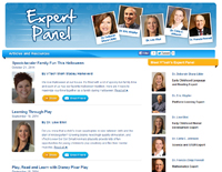 Expert supported curriculum is reviewed by the VTech Expert Panel