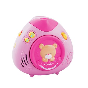 Lullaby Bear Crib Projector - Pink