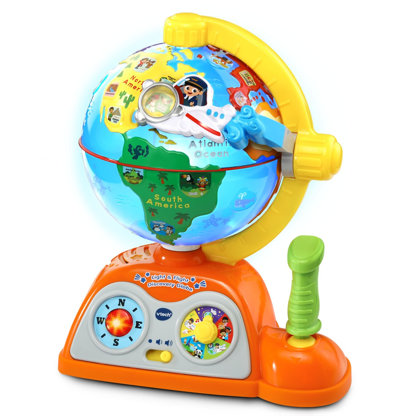 Light Amp Flight Discovery Globe Vtech 174
