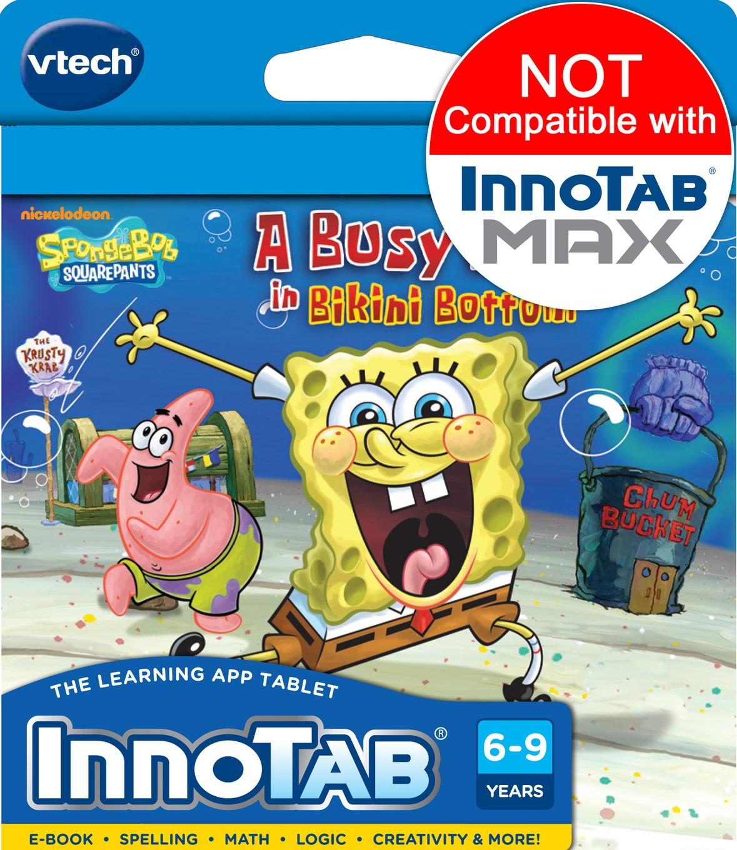 innotab software cartridge spongebob squarepants