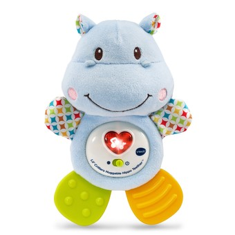 Lil' Critters Huggable Hippo Teether™